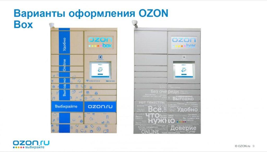 Как пользоваться постаматами Ozon Box и PickPoint b69992d5c9f