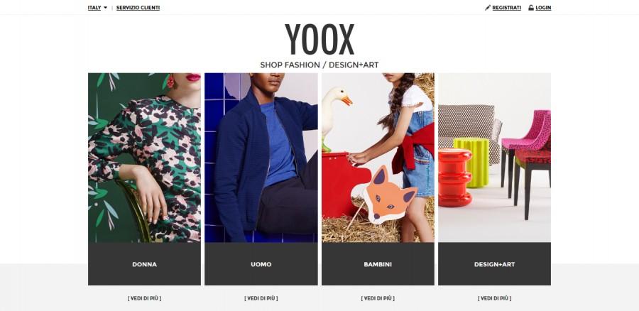 О магазине Yoox
