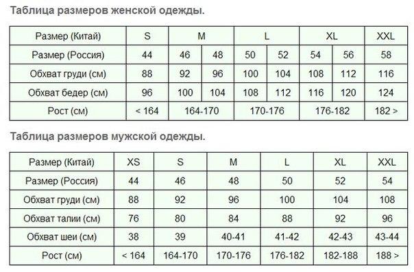 e9009720b3a Таблица размеров