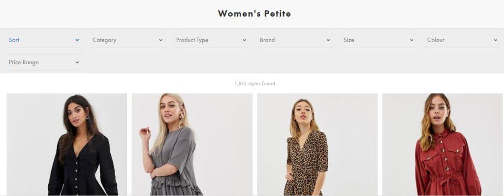 Коллекция Petite