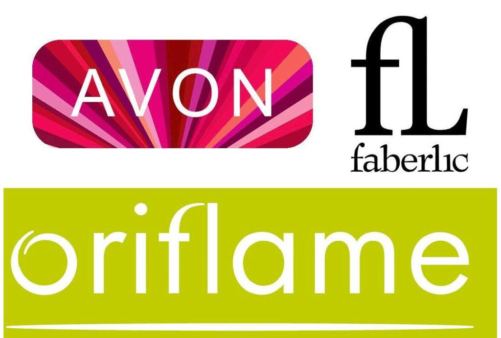 Avon, Oriflame и Faberlic