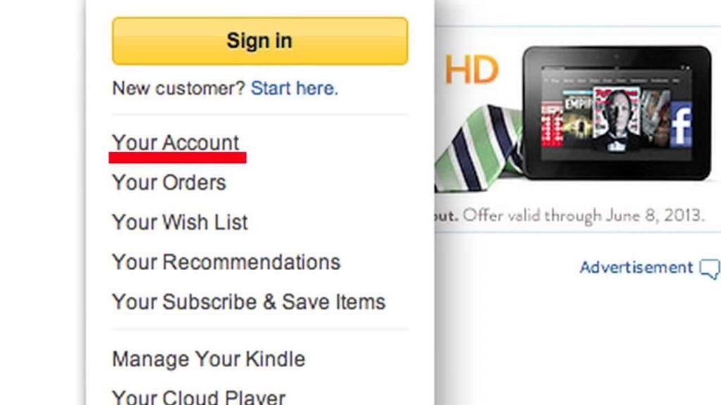 Зарегистрировать Kindle
