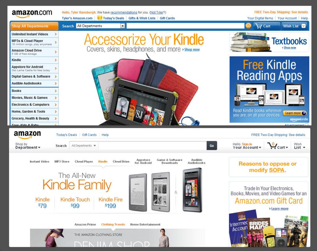 Интернет-магазин Амазон