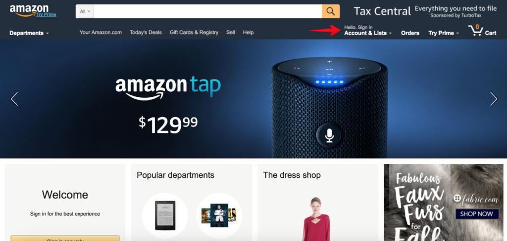 Как написать в чат на Amazon