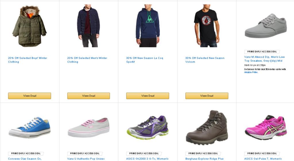 Одежда и обувь на Амазон