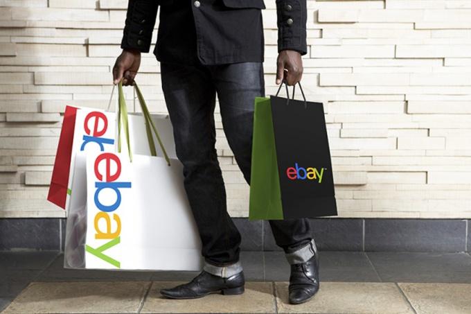 Получение товара на Ebay