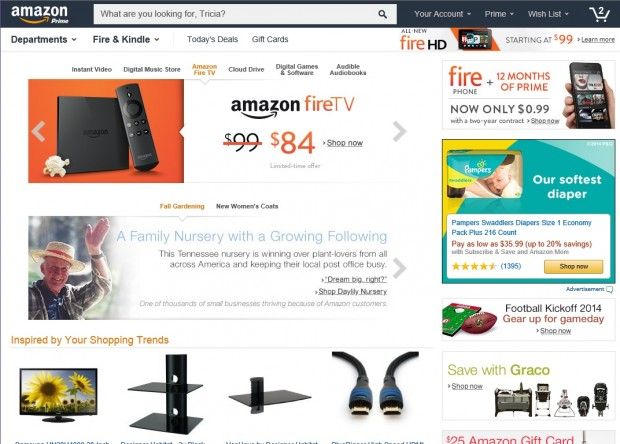 Amazon.com сайт