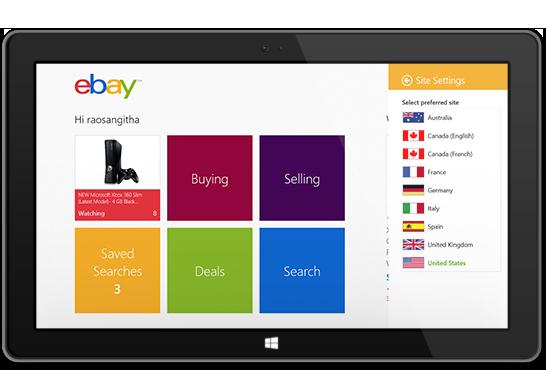 eBay интернет-магазин брендовых товаров