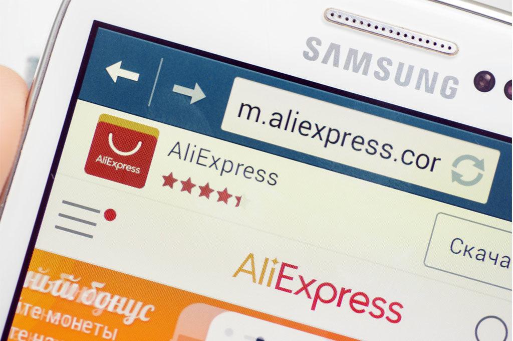 AliExpress в телефоне