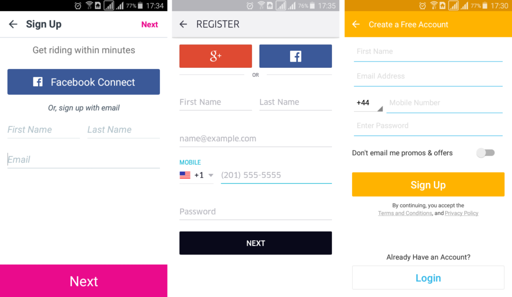 Поменять пароль на Алиэкспресс в мобильном приложении