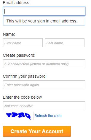 Указать адрес почтового ящика